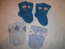 Bavlněné a froté ponožky 8 párů, 80
