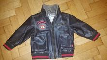 Pilotka kožená bunda, baby club,92