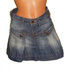 Džínová, riflová sukně edc denim vel.36-38, 36