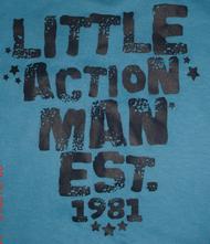 Bavlněné tričko early days s nápisem, early days,80