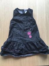 Džínové šaty baby club vel. 92, baby club,92