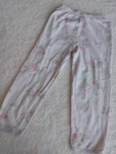 Květované pyž.kalhoty vel.104/1494, 104