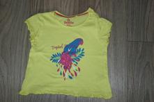 Tričko s papouškem, lupilu,86