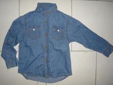 Košile s jemné rifloviny, rebel,110