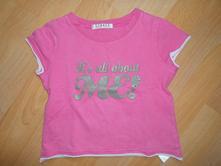 Růžové tričko, george,110