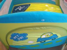 Cestovní ohrádka baby design play, 100,100