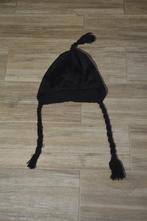 Dívčí černá fleesová čepice, 140-152, 146