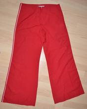 Červené kalhoty na běžné nošení l'aura jeans, 38