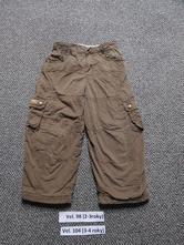 Termokalhoty zateplene kalhoty tchibo, tcm,98
