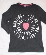 Ak126. tričko se srdcem 13-14 let, f&f,164