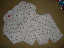 Pyžamo teplé flanel pes vel 122/128 i pro hubené, 122