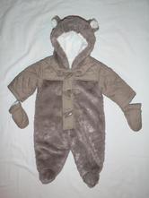 Luxusní teploučká medvídková zimní kombinéza  , debenhams,56