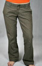 Barevné kostkované kalhoty vel m, 40