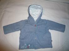 Teplý podzimní/jarní kabátek mothercare, mothercare,50