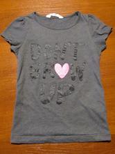 Krásné dívčí  triko vel 122-128, h&m,122