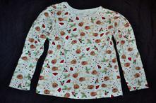 Bavlněné tričko dívčí, primark,116