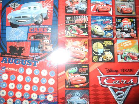 Kalendář cars,