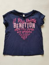 Tričko benetton, benetton,86