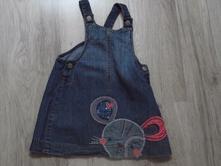 Riflové šaty, mothercare,98