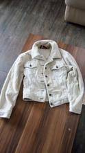 Manžestrová bunda krémová, 128