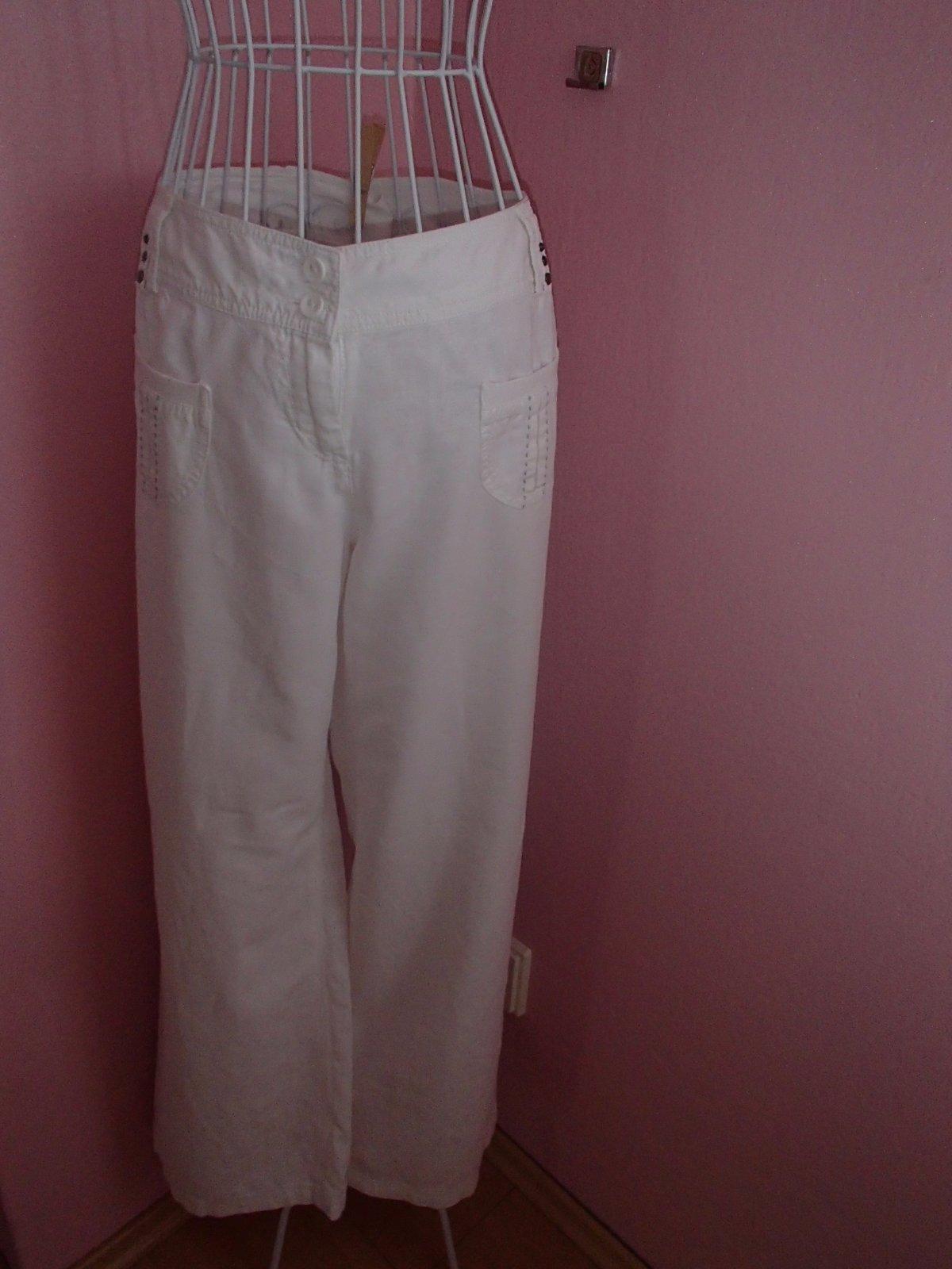Letní široké kalhoty 8f8f75e196