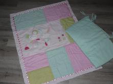 Komplet deky a mantinelu do postýlky, 80,100