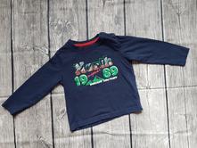 Bavlněné tričko - dlouhý rukáv, lupilu,92