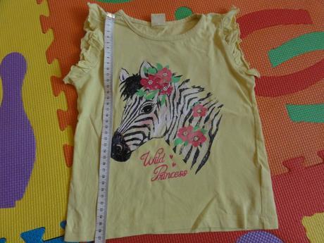 Žluté tričko s koníčkem, kiki&koko,98
