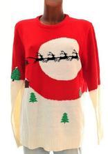 Nádherný svetr s vánočním motivem velikost l-xxl, l / xl / xxxl