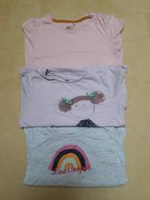 3 kusy triček s dlouhým rukávem, next,110