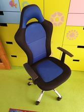 Prodám herní židle snertinge černá/modrá ( jysk ),