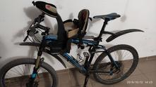 Dětská cyklosedačka weeride safefront deluxe,