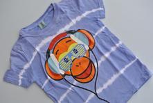 Modré tričko s opicí se sluchátky, kiki&koko,116