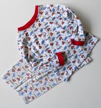 Bavlněné komiksové pyžamko, george,86