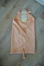 Krásná oranžová fleesová deka s tygrem,