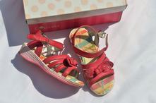Dívčí střevíčky -dětská letní obuv č.459, 25