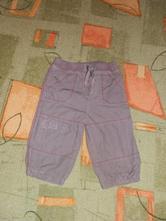 Podšité plátěné kalhoty m&co. vel. 80, m&co,80