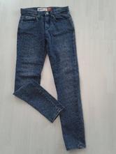 Dívčí tmavě modré džíny vel. 152, cherokee,152