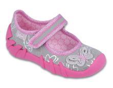 Dívčí balerínky,papučky befado, certifikovaná obuv, befado,22