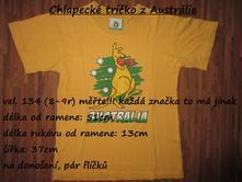 Chlapecké tričko z austrálie, 134