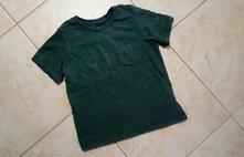 Olivové triko h&m, h&m,98