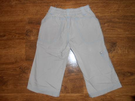 Plátěné letní kalhoty, vel 80, 80