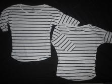 Pruhovaná trička h&m, 134