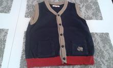 Pletená vesta, bluezoo,98