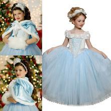 Krásné šaty - kostým pro princeznu - popelka, 104 - 146
