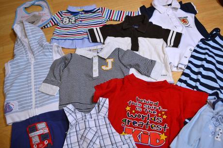 Mix oblečení na kluka vel. 0-68,