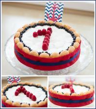 Nepečený dort pro oslavence :-)