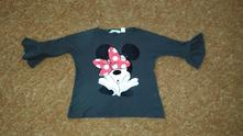 Triko h&m 122/128 minnie mouse, h&m,122