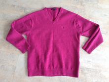 Unisex svetr značka gant fuchsiová barva vel. m, gant,m