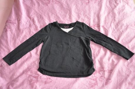 Hx_bavlněné tričko se zavinováním a nařasením, c&a,110